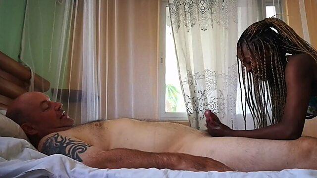 Ebony massage