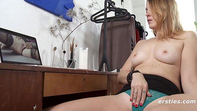 masturbating to porn