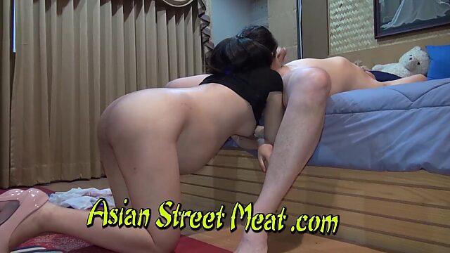 asian street meat anal