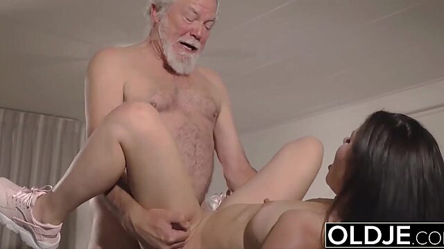old man pussy licking
