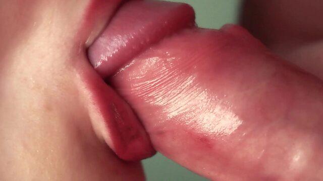 Slow motion blowjob
