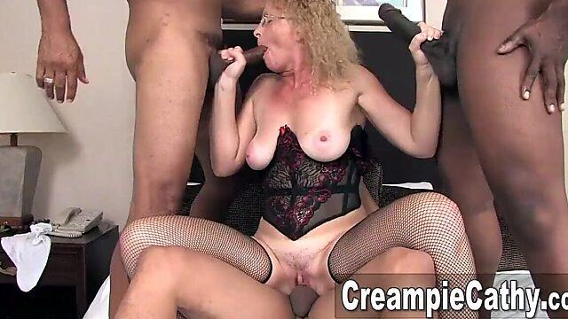 Wife sharing creampie