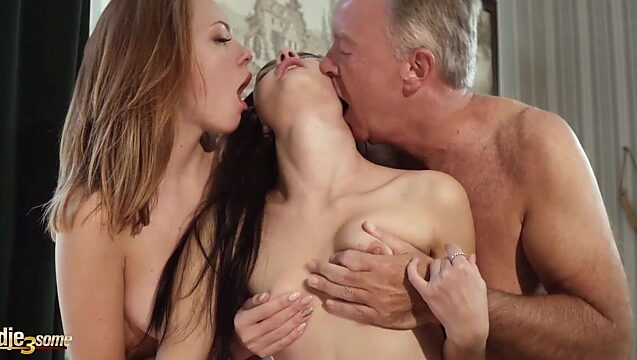 Young threesome