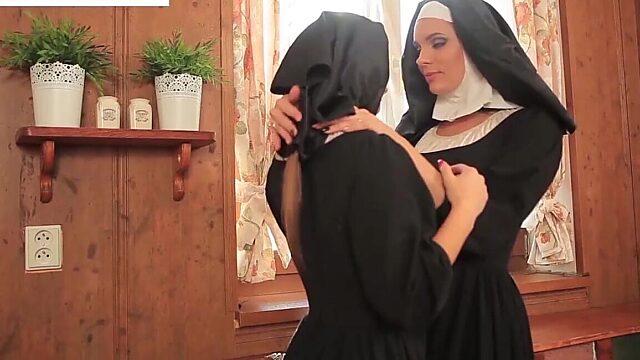 Lesbian nun