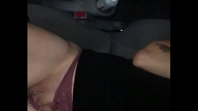 Mature in car