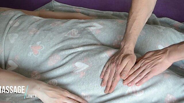 Massage hairy