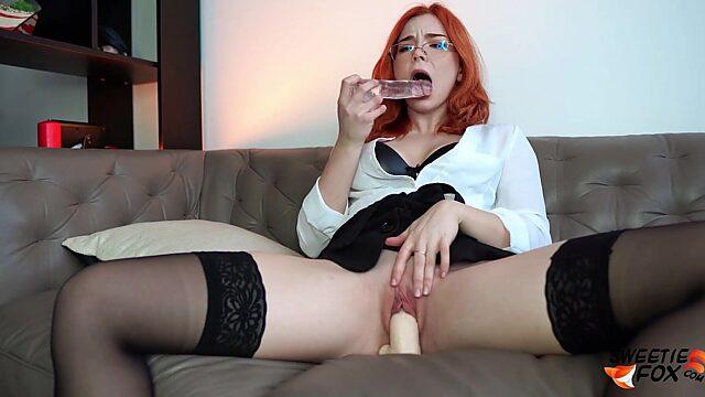 dildo stockings