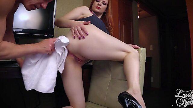 Horny boss