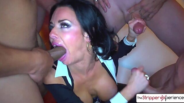 Big tits nylon