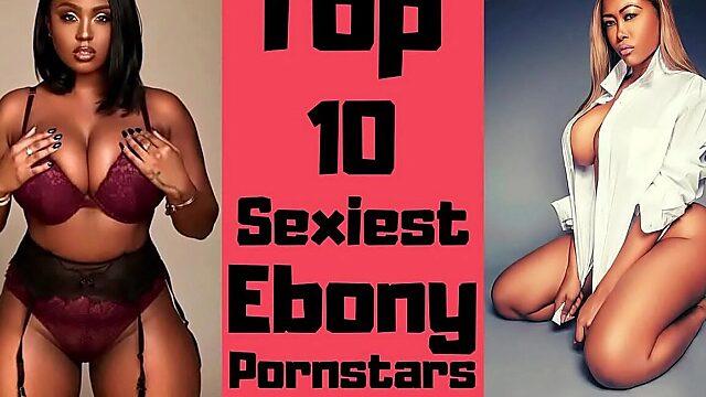 Ebony pornstars