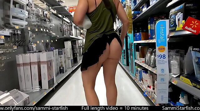 Public miniskirt