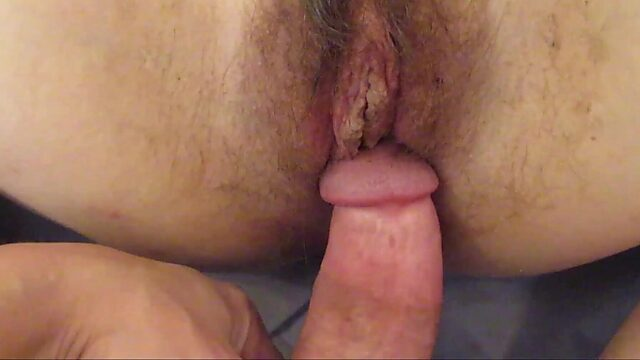 creampie hairy mature
