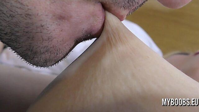 boob licking