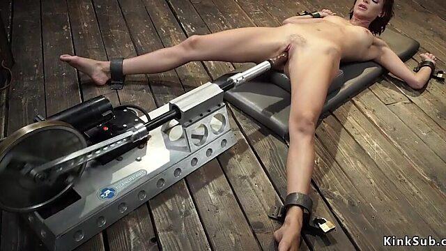 machine orgasm