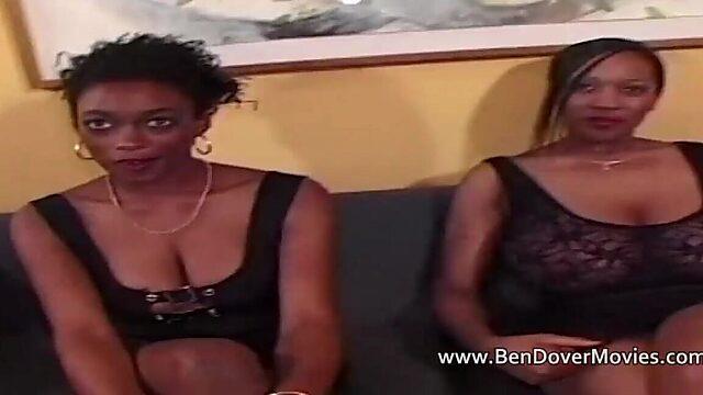Black women with white men