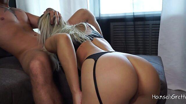 stockings blonde