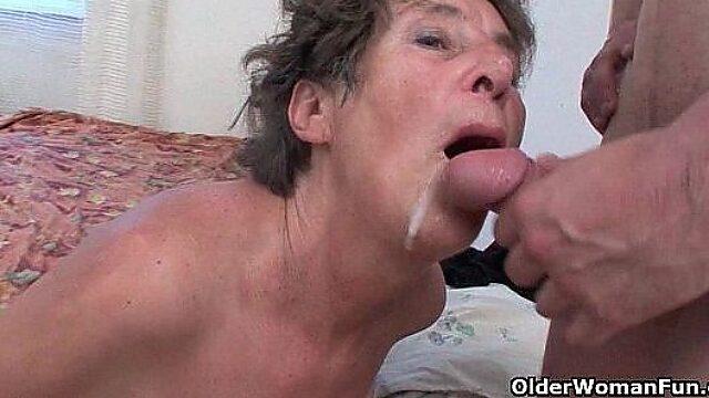 granny hairy anal