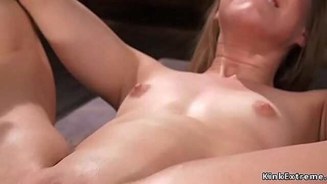 Dildo bondage