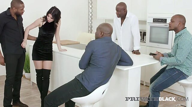 big black anal
