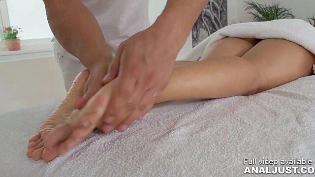 Anal after massage
