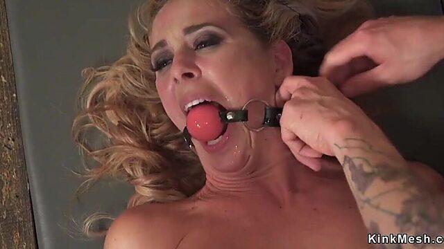 bondage busty