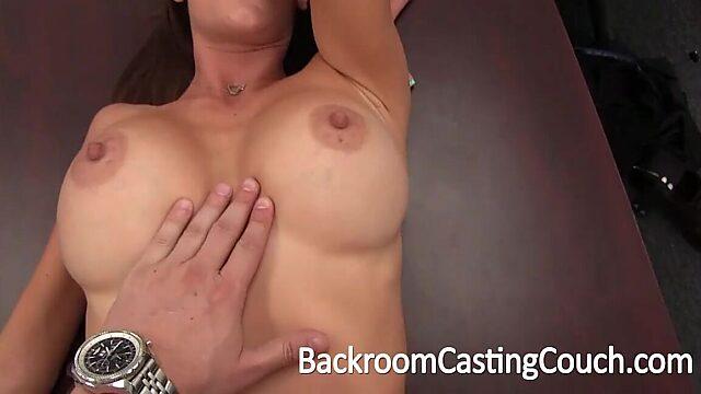 Amateur anal casting
