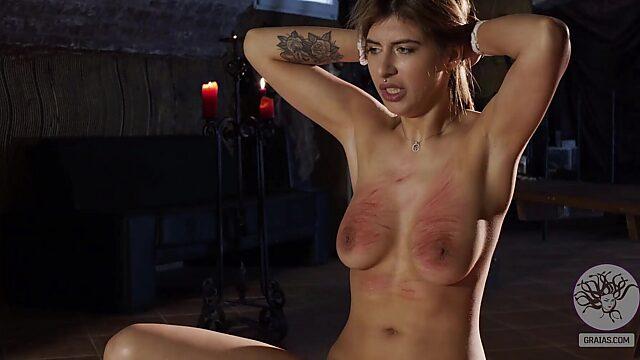 Tits slap