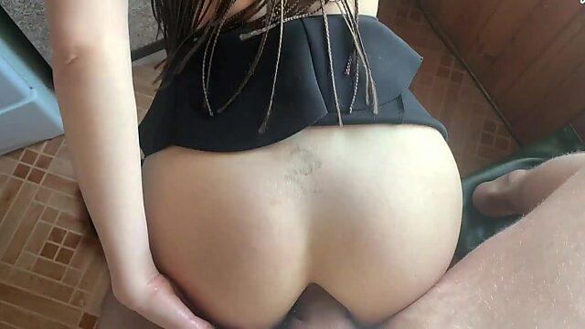 big natural anal
