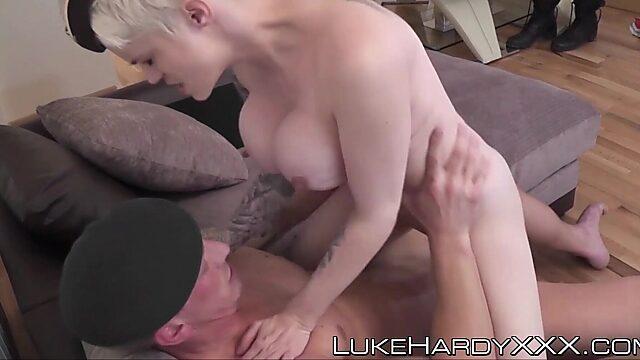 Short hair big tits