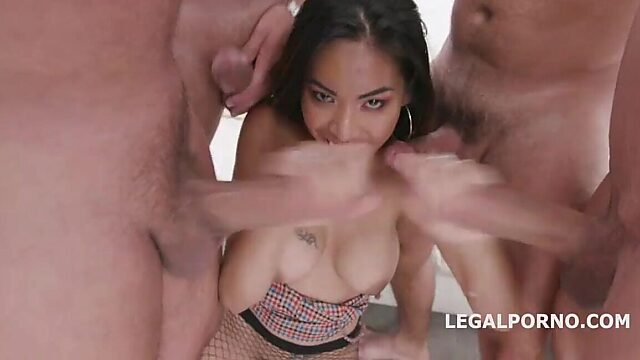 asian double anal