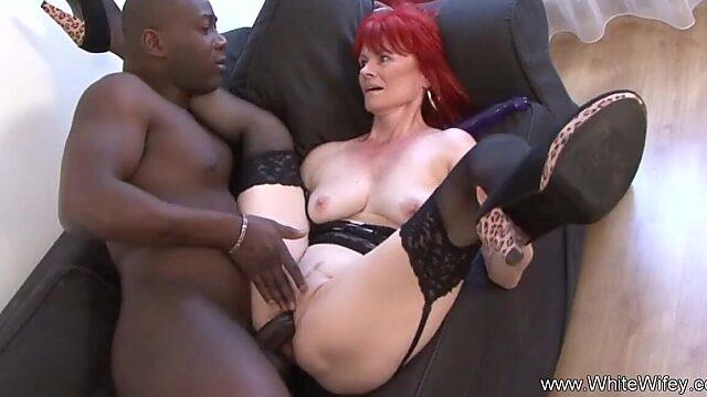 redhead handjob