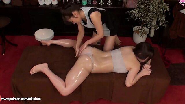 lesbian milf massage