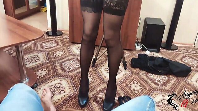 18 girls stockings