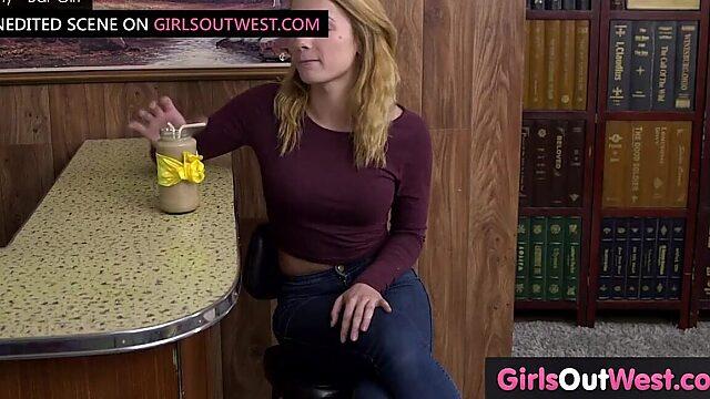Fingering solo girl