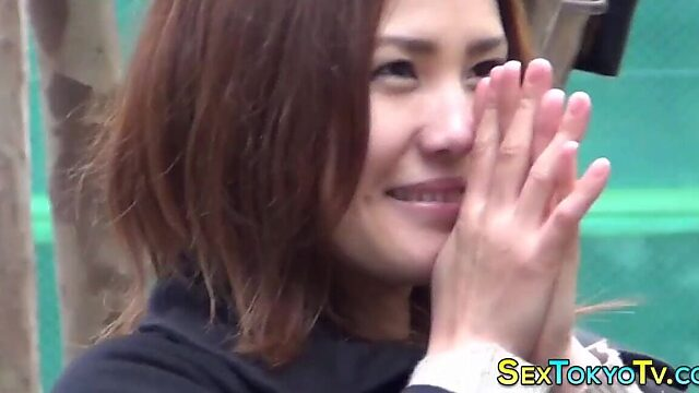 Japanese pussy show