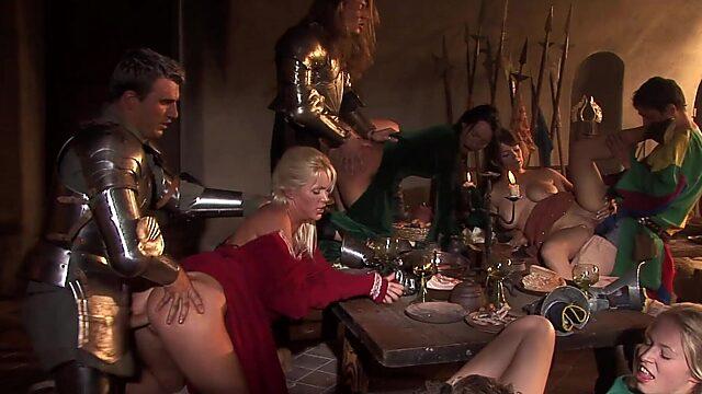 Dinner orgy