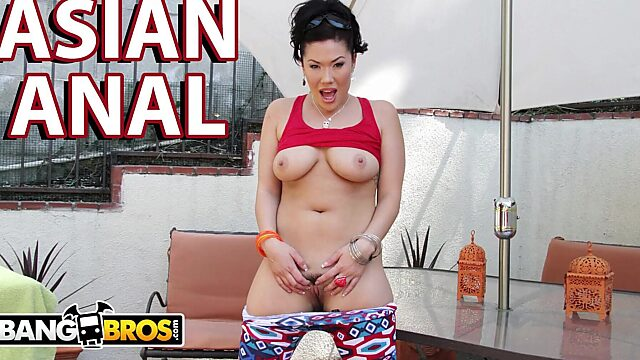 Big ass asian anal