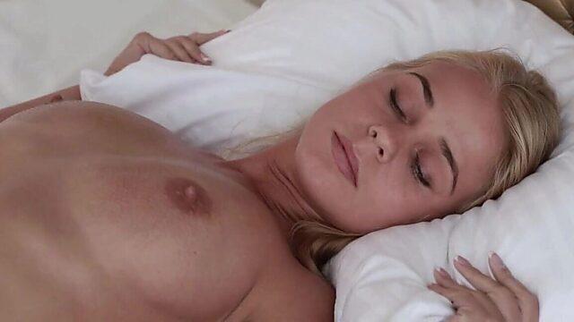 big tits blonde solo
