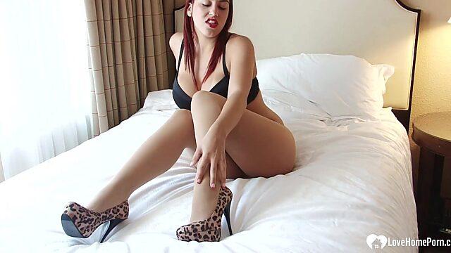 high heel tease