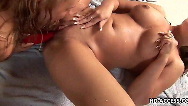 Big boobs kissing
