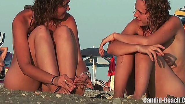 lesbians beach