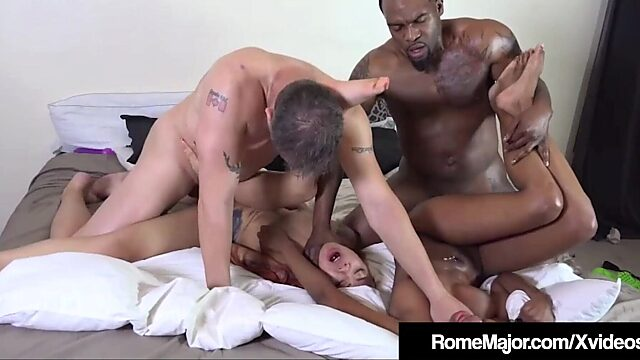 Ebony foursomes