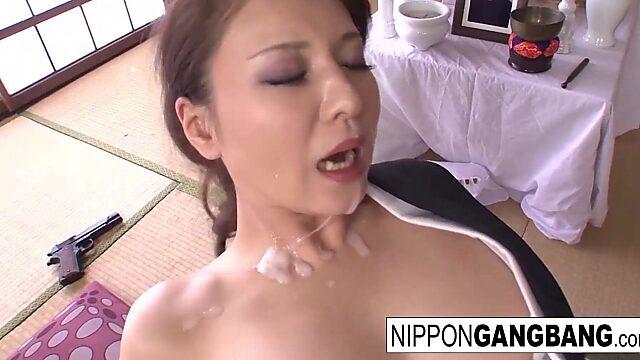 japan gangbang