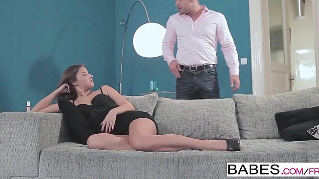 Mom small tits anal