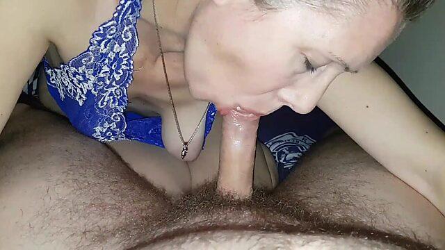 cum mouth mature